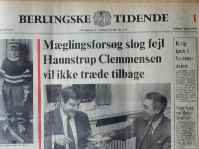 Krant geboortedag  Berlingske Tidende (26-05-1972)