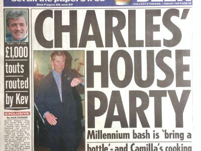 The Sun krant geboortedag als jubileumscadeau