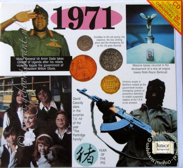 A Time to Remember 1971