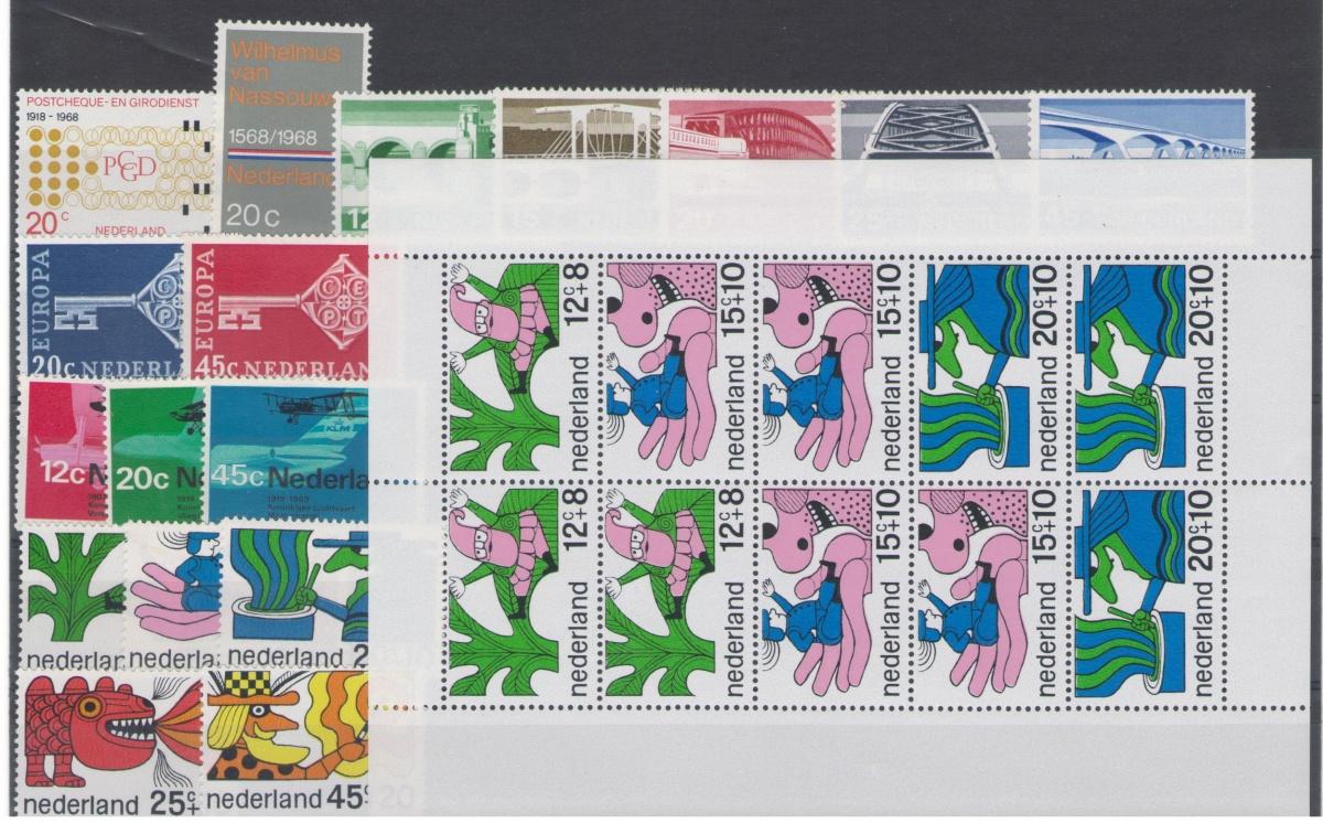 Postzegel jaargang 1968