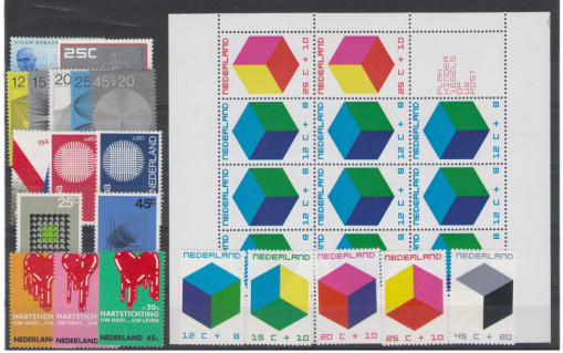 Postzegel jaargang 1970