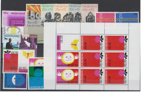 Postzegel jaargang 1971