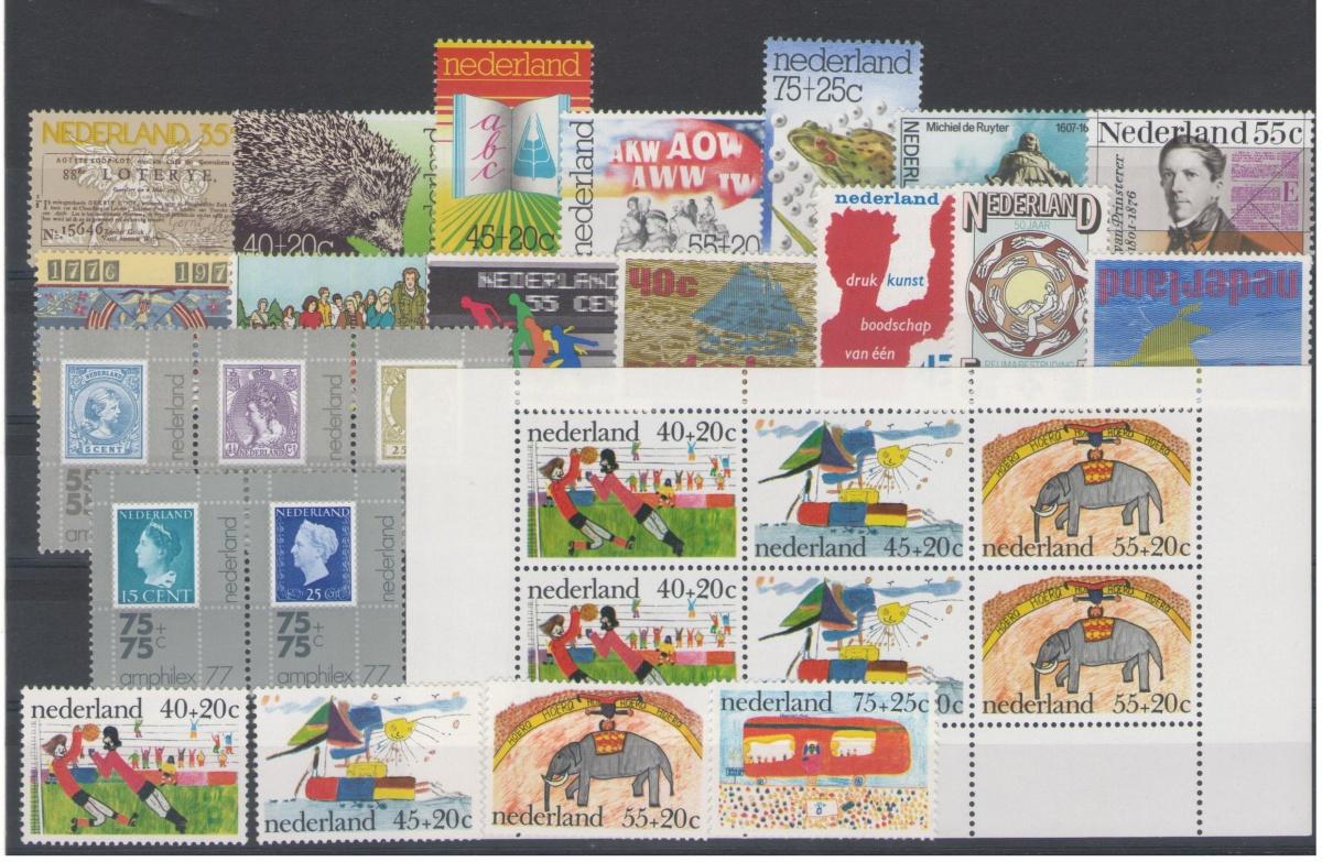 Postzegel jaargang 1976