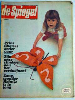 De Spiegel krant geboortedag als jubileumscadeau