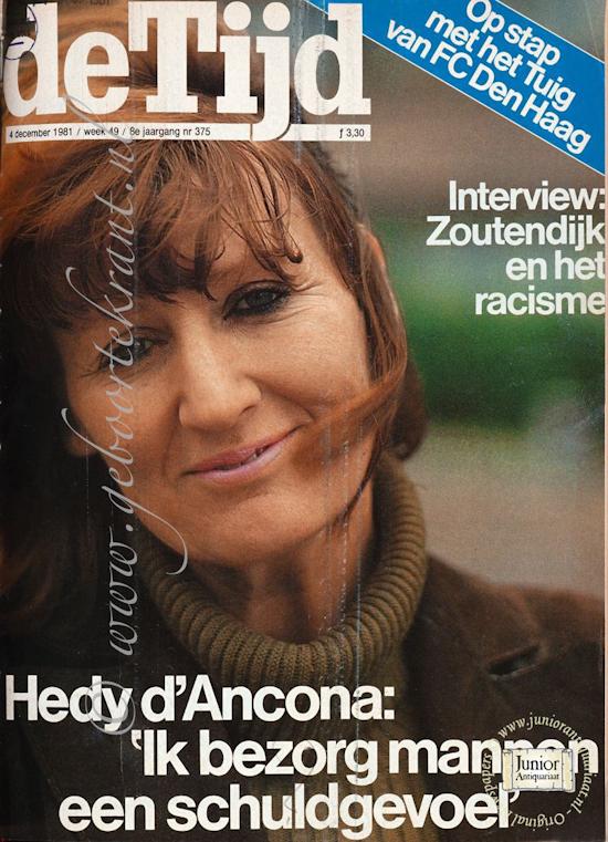 Vintage tijdschrift De Tijd weekblad (01-10-1988), een mooi cadeau voor jubileum of verjaardag