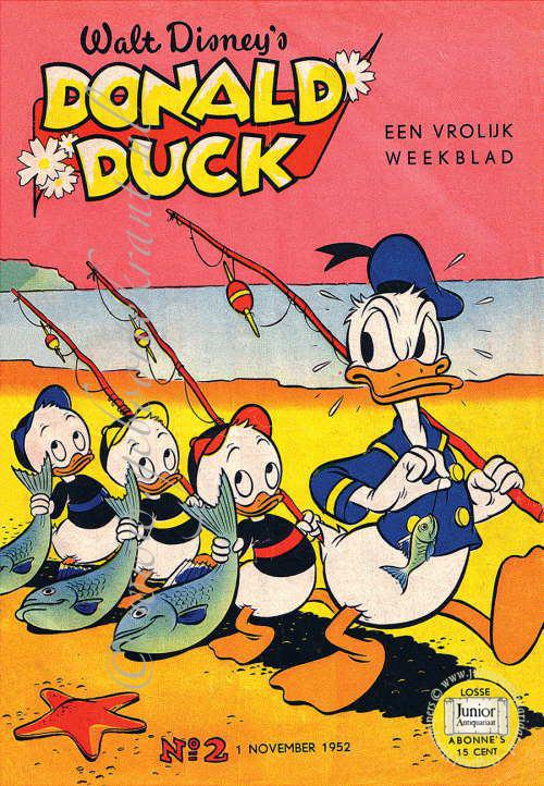 Vintage tijdschrift Donald Duck (01-10-1988), een mooi cadeau voor jubileum of verjaardag