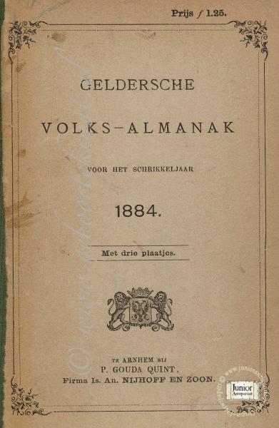 Geldersche Volks-almanak 1924