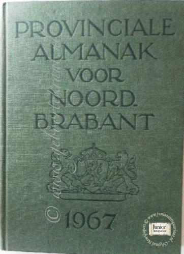 Provinciale almanak voor Noord Brabant 1971