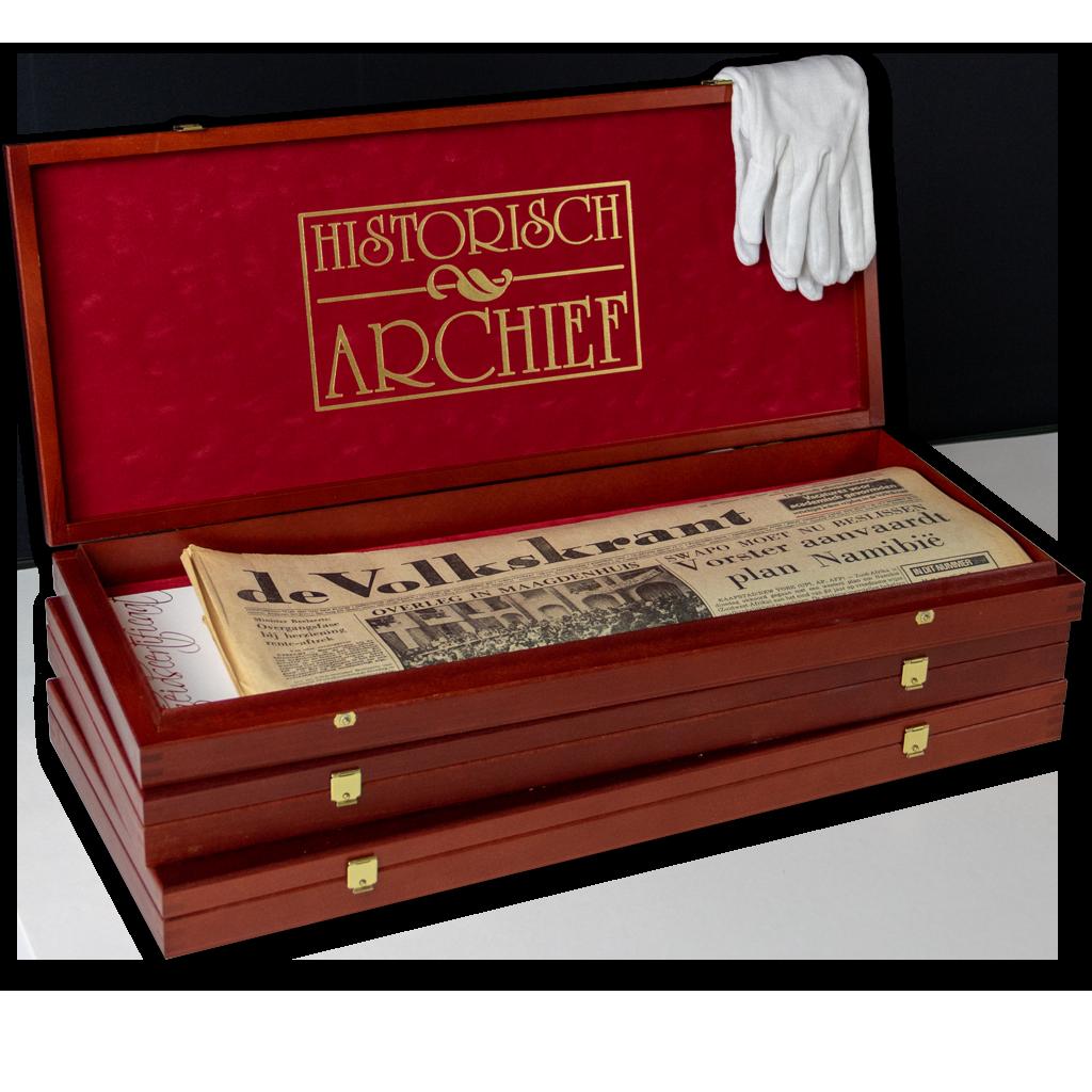 Historische krant cadeau's