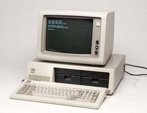 Eerste personal computer IBM