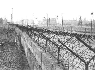 De Berlijnse Muur: tweedeling tussen het Oosten en het Westen