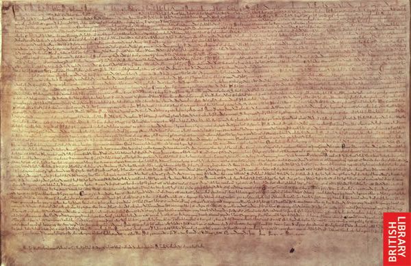 Magna Carta uit 1215 ontdekt
