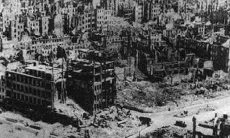 Dresden herdenkt bombardement 70 jaar geleden