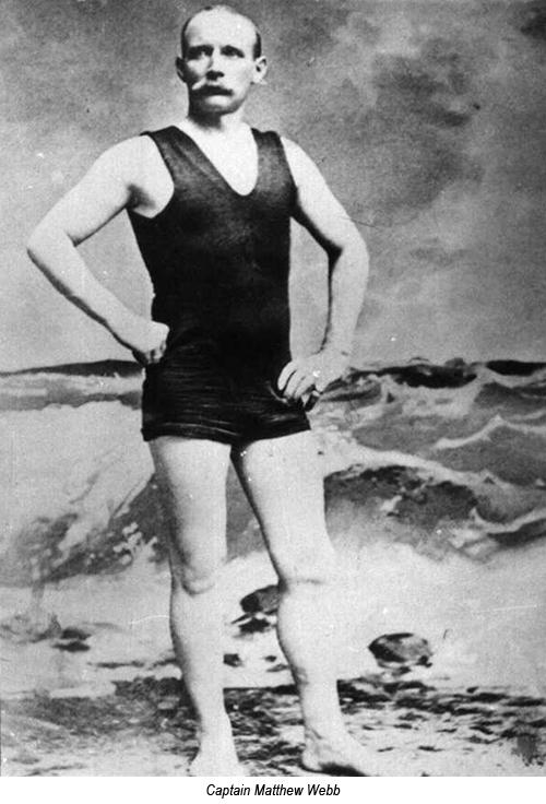 Eerste mens zwom 142 jaar geleden Het Kanaal over