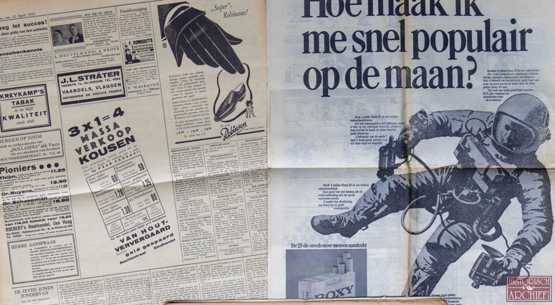 Krant geboortedag van De Volkskrant