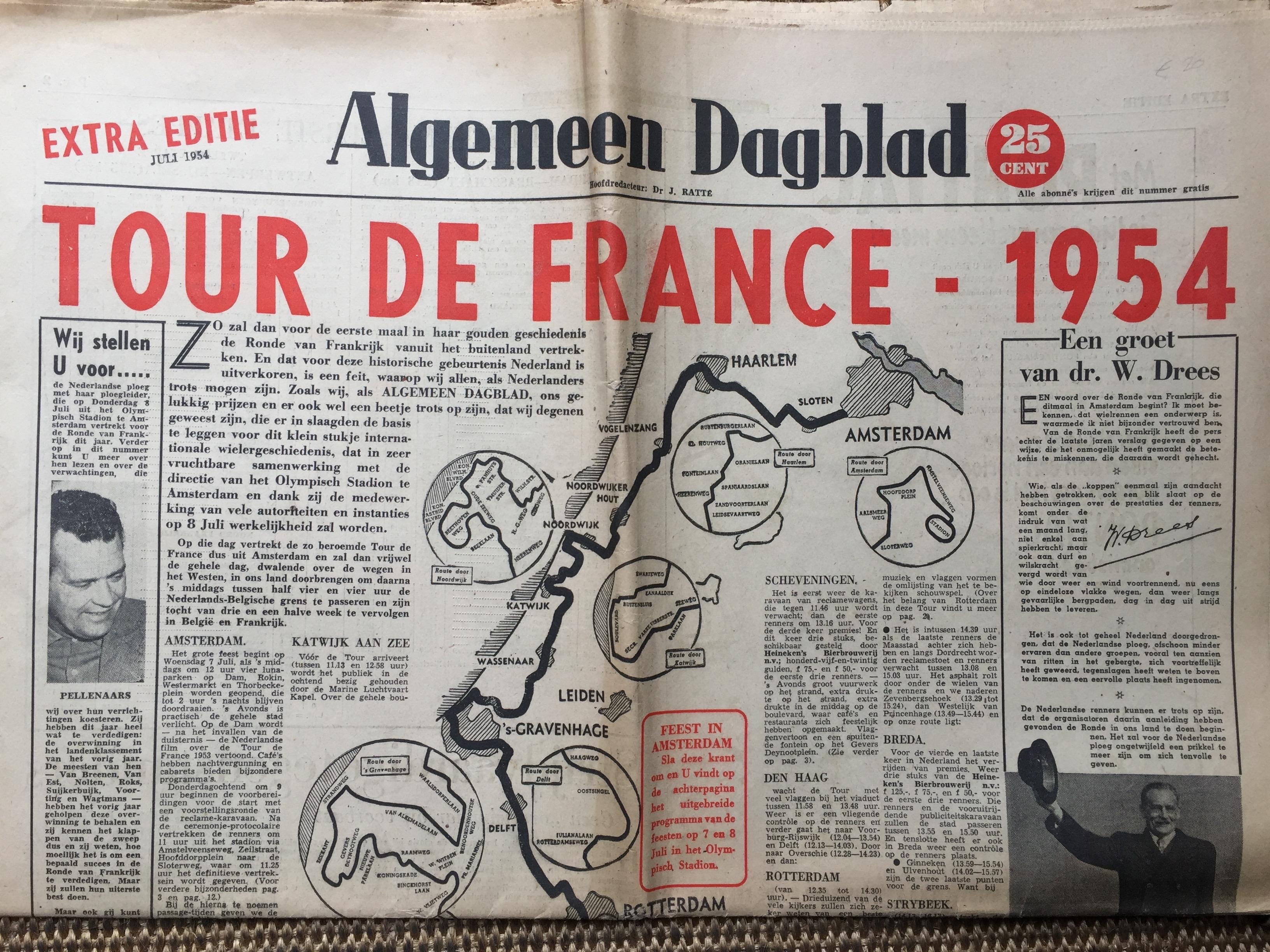 AD, de historische krant van Willem Pluygers