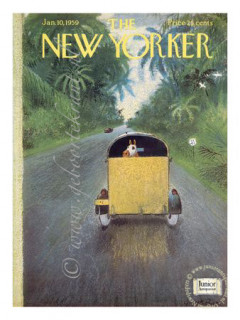 The New Yorker krant geboortedag als jubileumscadeau