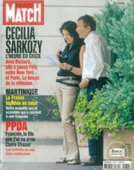 Vintage tijdschrift Paris Match (06-10-1988), een mooi cadeau voor jubileum of verjaardag