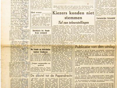 De Nieuwe Dag krant geboortedag als jubileumscadeau