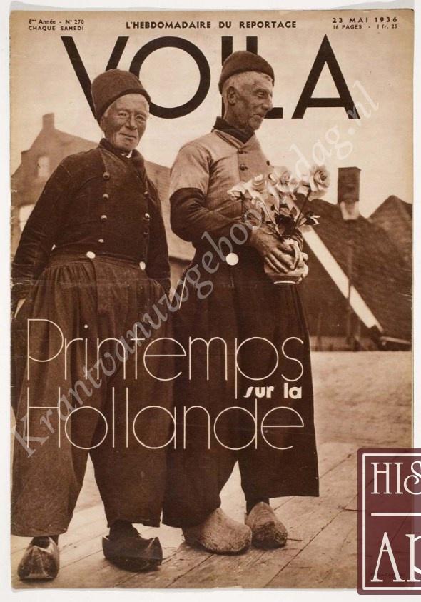 Vintage tijdschrift Voilà (02-04-1938), een mooi cadeau voor jubileum of verjaardag