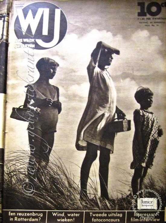 Vintage tijdschrift Wij. Ons werk, ons leven (01-04-1938), een mooi cadeau voor jubileum of verjaardag