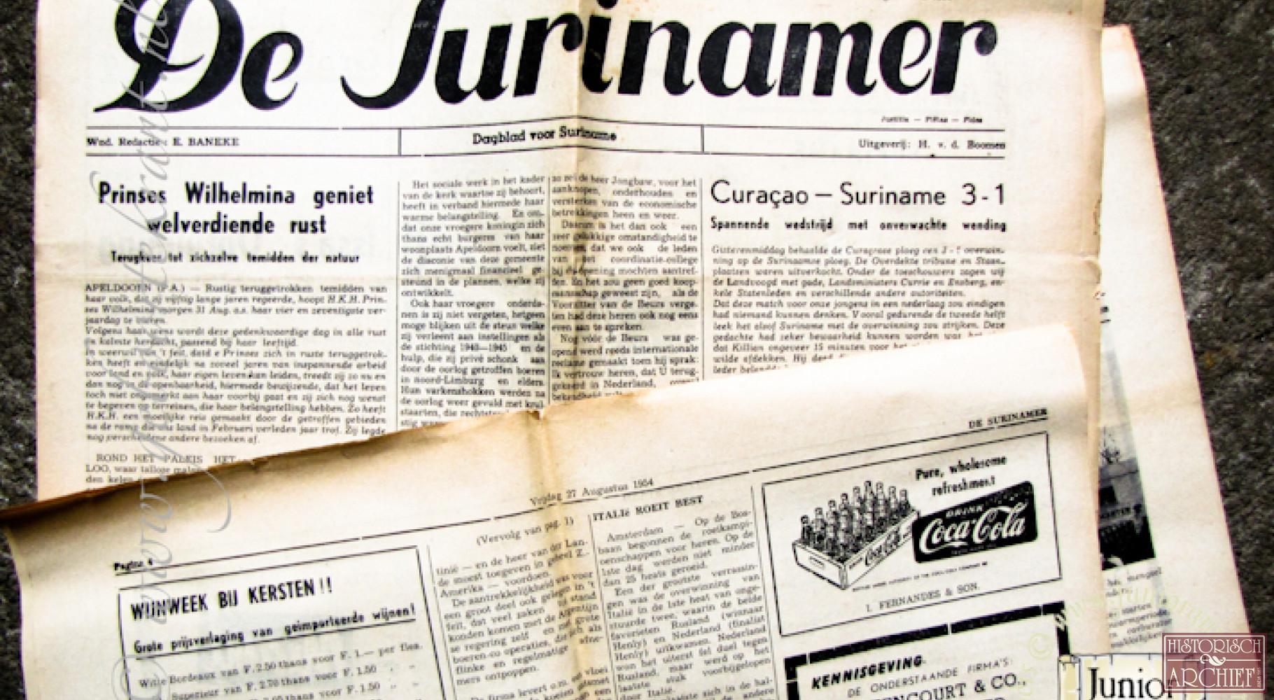 De Surinamer