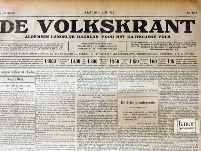 Krant geboortedag  De Volkskrant (25-05-1972)