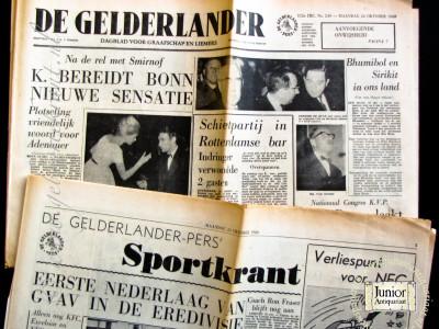 Krant geboortedag  De Gelderlander (12-05-1972)