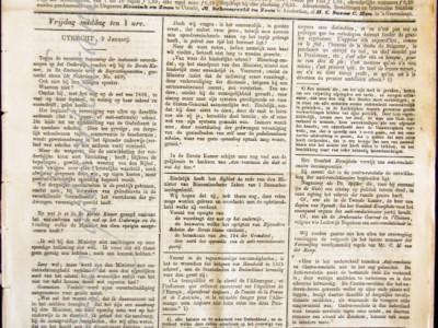 De Nederlander krant geboortedag als jubileumscadeau