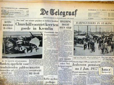 Krant geboortedag  De Telegraaf (22-04-1972)