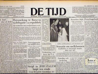 De Tijd krant geboortedag als jubileumscadeau
