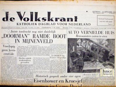 Krant geboortedag  De Volkskrant (12-05-1972)