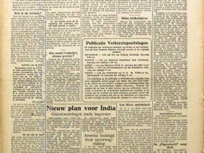 Gooische klanken krant geboortedag als jubileumscadeau