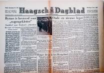krant geboortedag titel Haagsch Dagblad