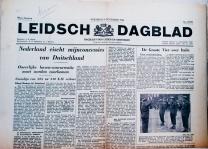 krant geboortedag titel Leidsch dagblad
