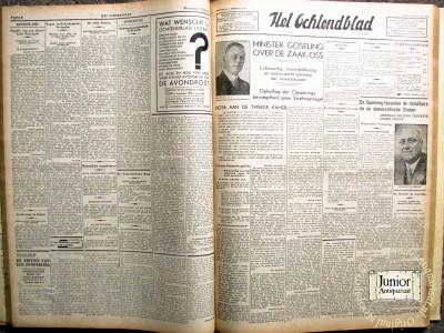 Het Ochtendblad krant geboortedag als jubileumscadeau