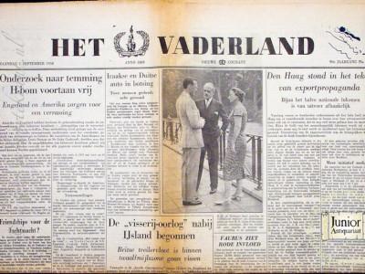 Krant geboortedag  Het Vaderland (17-05-1972)