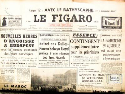 Le Figaro krant geboortedag als jubileumscadeau