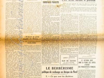 Le Monde krant geboortedag als jubileumscadeau
