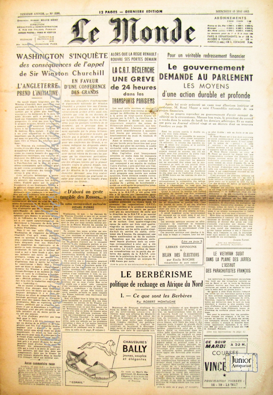 Le Monde (10-06-1971)