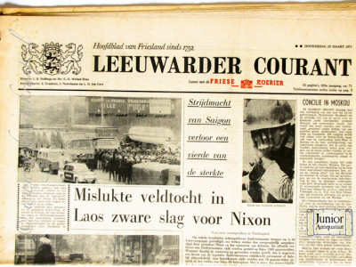 Krant geboortedag  Leeuwarder courant (20-05-1972)