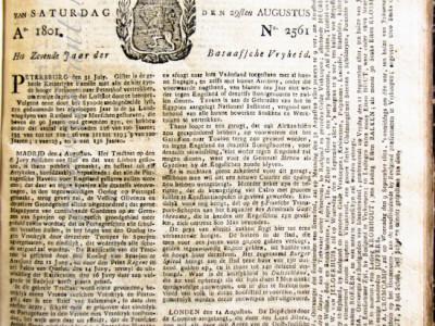 Leeuwarder courant krant geboortedag als jubileumscadeau