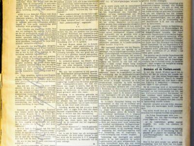 Nieuws van den Dag voor Ned. Indië krant geboortedag als jubileumscadeau
