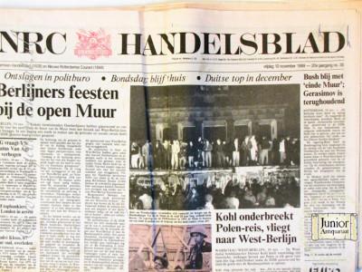 NRC-Handelsblad krant geboortedag als jubileumscadeau