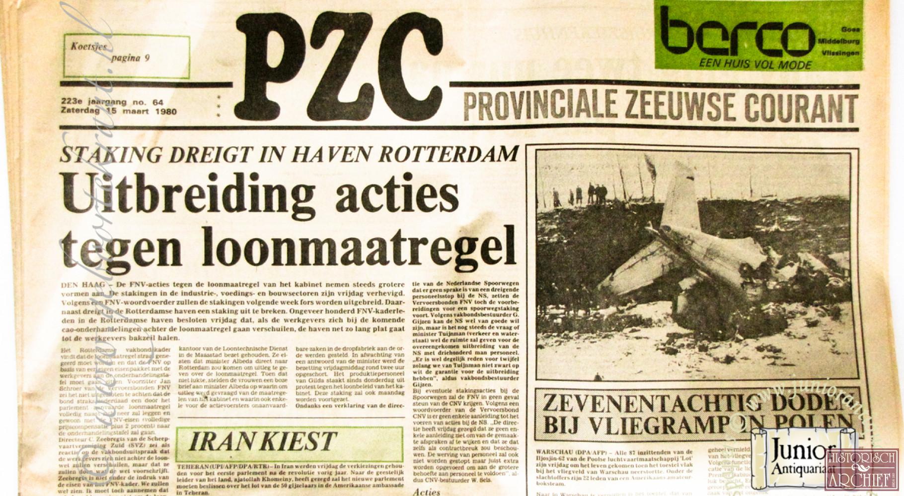 PZC - Provinciale Zeeuwse Courant