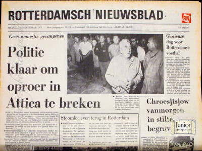 Krant geboortedag  Rotterdamsch Nieuwsblad (16-05-1972)