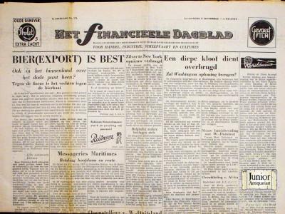 Krant geboortedag  Het Financieele Dagblad (08-05-1972)