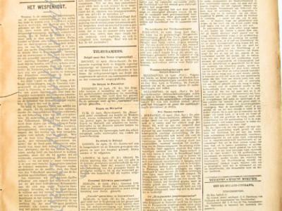 Het Nieuws van den dag krant geboortedag als jubileumscadeau