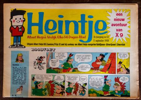 Heintje, Albert Heijn's vrolijk elke-14-dagen-blad