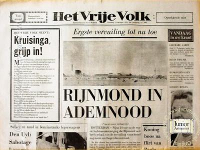 Krant geboortedag  Het vrije volk (24-04-1972)